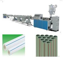 Пластиковые экструдер PPR горячие и холодные трубы водопровода Штрангя линии