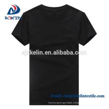 Custom design men cotton blank white t shirts