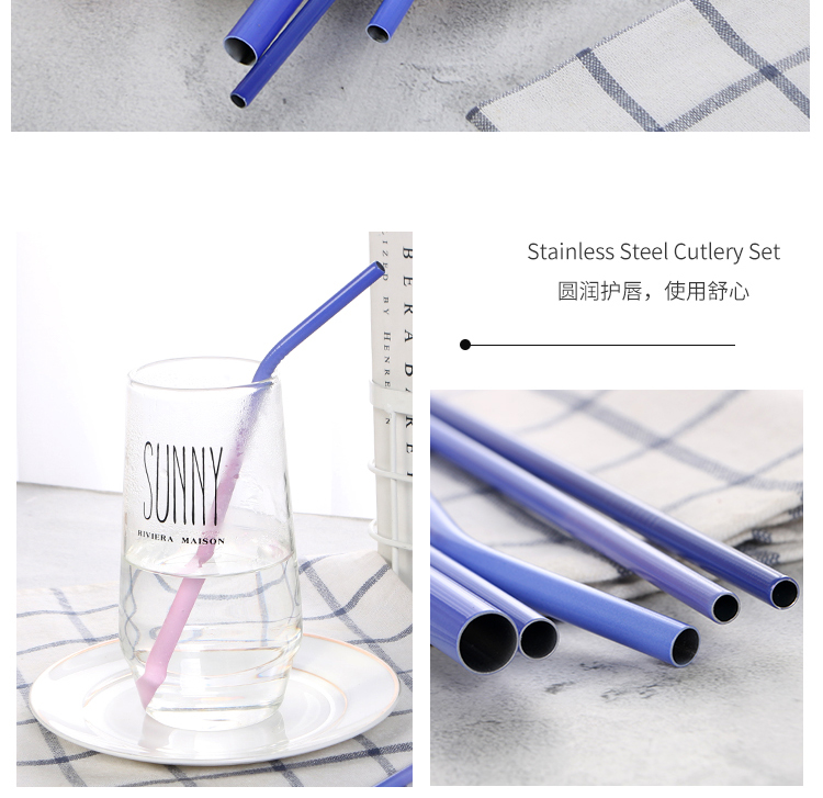 Reusable Color Changing Straw