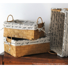 (BC-RB1003) High Quality Paper Rope Basket