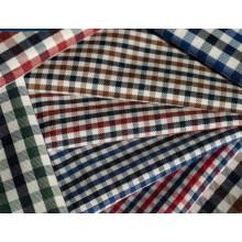 Contrôles de sergé Polyester tissu de coton 40 60 pour chemises