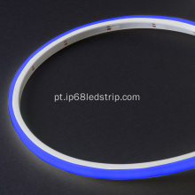Evenstrip IP68 Dotless 1012 Blue Top Bend levou tira de luz