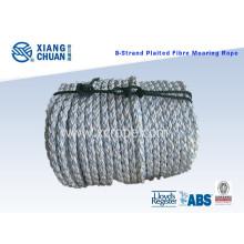 Cuerda de amarre de 8 cuerdas 72mm, 220m de longitud, 8 cuerdas