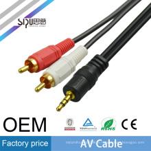 СИПУ высокое качество 3,5 мм на 2RCA AV-кабель оптом выход RS232 кабель AV лучшей цене аудио-видео кабель