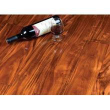 Revestimento de madeira fantástico da acácia da cor do vinho tinto