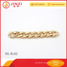High end clothing decorative metal chains handbag chains