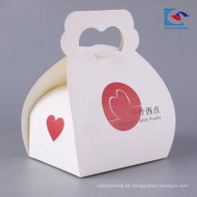 Großhandelskundenspezifischer Kuchenverpackungskasten für Kuchen und Torte