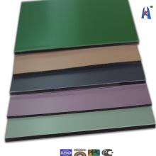 3mm/0.3mm PVDF Caoting Exterior Facade Panel Xh006