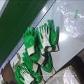 Gant en latex à revêtement plat en coton populaire dans le marché du Moyen-Orient
