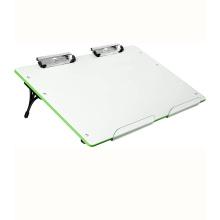 Quadro branco de apagamento magnético de mesa portátil