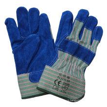 CE EN388 Cowhide Split Leather Cut Resistant Hand Protection Working Gloves