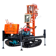 BIg diameter mobile positive cycle  tractor water well drilling rig