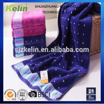 Garn gefärbt Großhandel beliebte 100% Baumwolle geschnittenen Haufen Gesicht Handtuch