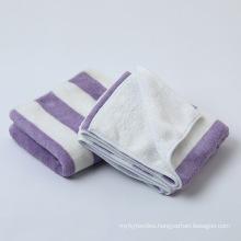 wholesale custom brand coral fleece polyester microfiber  beach bath gym body shower quick dry towel  for yoga spa hotel
