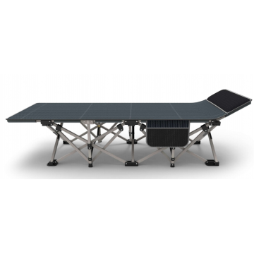 High Quality Single Folding Metal Adjustable Camping Bed