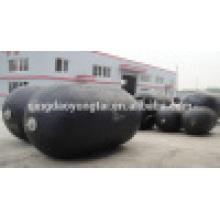 D=2000mm E=3500mm Yokohama Floating Pneumatic Fenders/ Sling Type and Tire Net