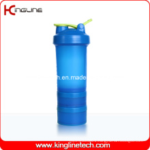 22oz/600ml plastic blender shakers with stainless blender mixer ball (KL-7050)