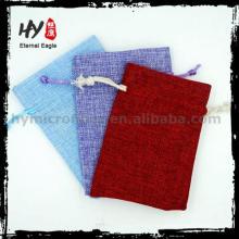 Лучшие продажи мешок ювелирных изделий конверт, изготовленный на заказ мешок ювелирных изделий drawstring, магазины ювелирных изделий мешок упаковки