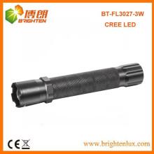 Bulk Продажа Алюминиевый материал XPE Q3 / Q5 Америка Cree 3W привели многофункциональный полицейский фонарик с фокусом