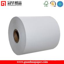 Rouleau de papier thermique personnalisé de qualité supérieure