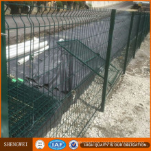 Triangular Bending Safety Welded Wire Mesh Fence Panel