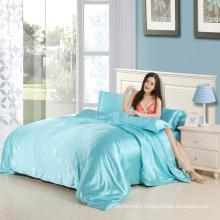 Cheap Polyester Satin Silk Bedding Set