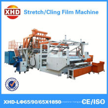 Back type High speed 3 layers fully automatic stretch film machine