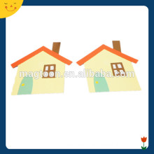 Fashion Shape House Design Magnetic Building Shapes Toy
