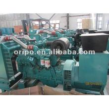 Generador diesel enfriado por agua con motor de 4 tiempos y alternador sin escobillas