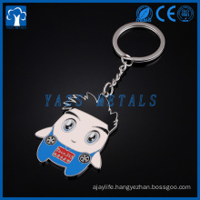 custom color Cartoon metal keychain