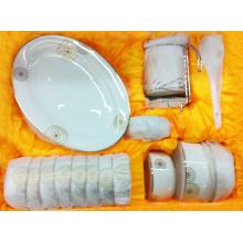 Bone China Dinner Set mit Aufkleber (BC-001)