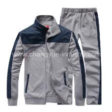 mens material algodón alta deportiva chaquetas y chándal para el diseño de la formación