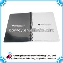 Cuadernos de espiral con cubierta plástica