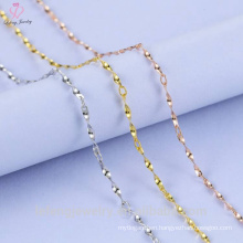 Twisted Piece Silver Chain Sterling Silver Design For Girl