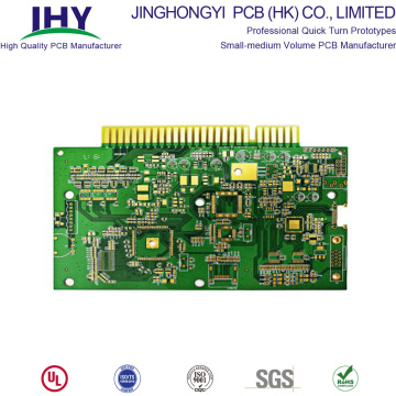 Multilayer Gold Finger PCB Fr4 PCB Board Manufacturing