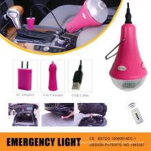 Kit de iluminação de emergência LED carro mais novo; Luz de acampamento; Luz em casa