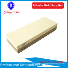 hot sell whetstone knife sharpeners with bamboo base anti-slip holder
