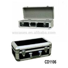 vendas por atacado caso CD de alumínio da alta qualidade CD 60 discos (10mm)