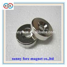 Nickel Cadmium Rundmagnete mit Senkloch