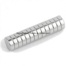 Disc Rare Earth Permanent Magnets with Ni Plating