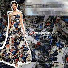 Tela de seda italiana impresa digital para la bufanda o la ropa