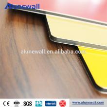Panneau composite en aluminium de haute qualité de revêtement de 4mm PVDF pour la table de tennies de table