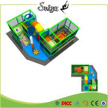 Прикольная зона для детей в закрытом помещении Мини-игровая площадка