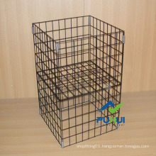 Foldable Wire Promotion Bin (PHY622)