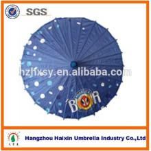 Bambou Frame papier huilé parapluie avec manche en bambou