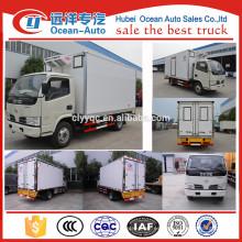 Fabricante !!! Frigorífico furgoneta, 3 Tons camiones frigoríficos para venta