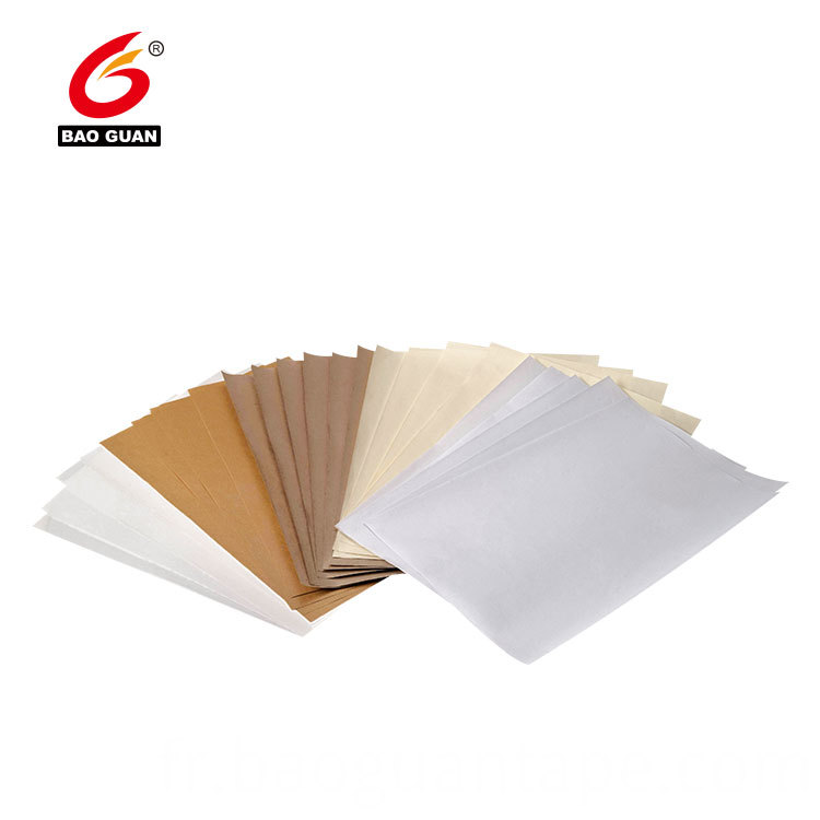 Double Side Silicone Coated Havanna Glassine Release Paper