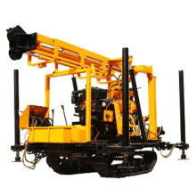 Depth 200m crawler rotary portable hydraulic water well drilling truck rig price