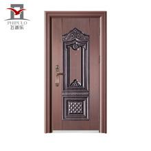 Размер Costomize Гарантированное качество Принятые стальные двери Oem Security