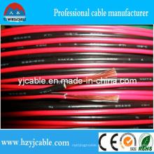Cable de altavoz rojo y negro Cable paralelo de cobre puro Straned